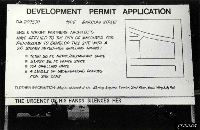 1989 Kathryn Walter Redevelopment an Intervention The Urgency Of His Hands Silences Her